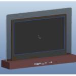 【液晶サイネージ】LCD15インチ 両面液晶モニター