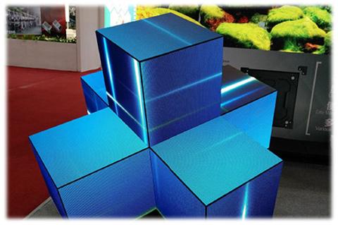 【LEDサイネージ】直角対応(L型)