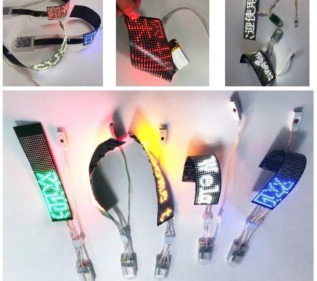 【LEDサイネージ】LEDフレキシブルディスプレイ/ FPCディスプレイボード