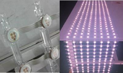 【メッシュサイネージ】COB LED 網状サイネージ