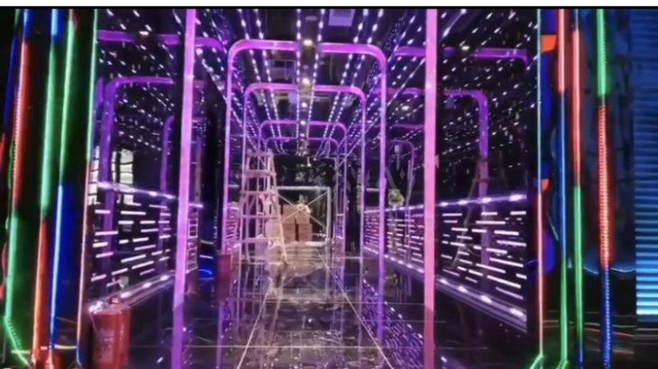 LED角型バーを使った内装表現 通路ゲート編