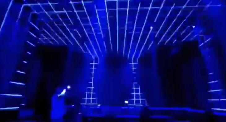 LED角型バーを使った内装表現 クラブ編